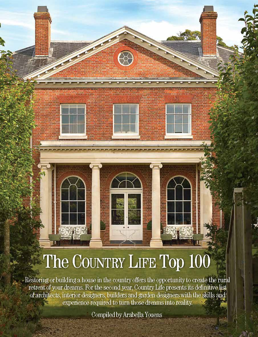Country Life: Best Builders in Britain 2018! - R W Armstrong